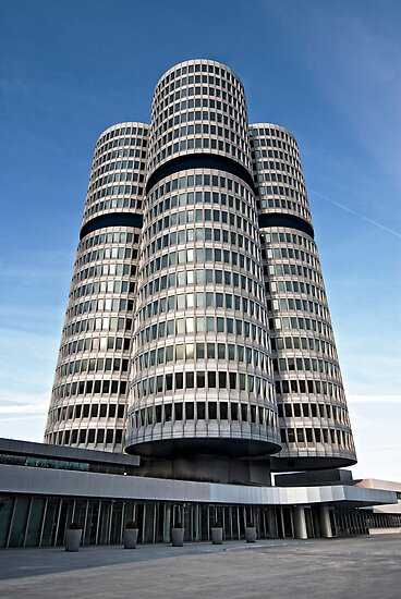 The BMW Tower by Kasia-D