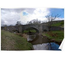 Bridge at Semerwater - Yorks Dales. Poster