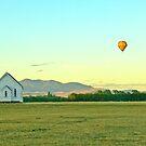 Peaceful surroundings - Hot-air ballooning near Martinborough, New Zealand by Fineli