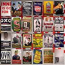 Enamel Advertising from Days Gone By by ©The Creative  Minds