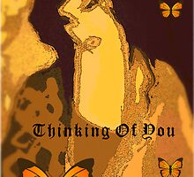 Thinking Of You Card by Adrena87