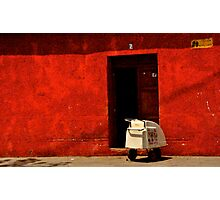 Home Delivery Photographic Print