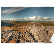 Beautiful Burren Landscape Poster