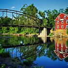 War Eagle Mill and Bridge by Gregory Ballos | gregoryballosphoto.com