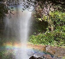 Bottom of Rainbow Falls, Springbrook National Park by smallan