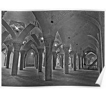 Inside Vakil Mosque - Shiraz - IRAN Poster