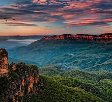 3 Sisters Sunrise by Jason Pang, FAPS FADPA