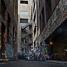 Hosier Lane by Werner Padarin