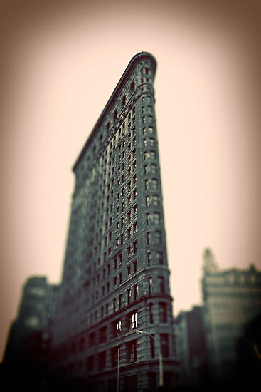 Flat Iron Building - NYC by Tim Mannle