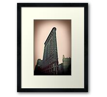 Flat Iron Building - NYC Framed Print