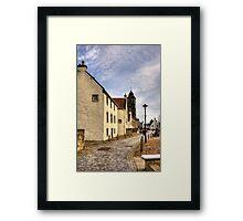Culross Town Square Framed Print