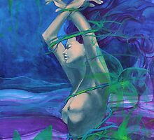 """Twelve Whispers"" - Painting by Dorina Costras by dorina costras"