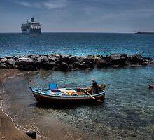 Barche a confronto by Andrea Rapisarda