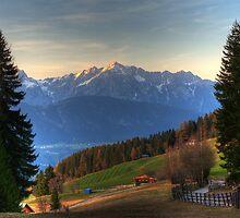 Tirol Mountains II  by Bogdan Ciocsan
