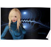 Sci-fi Fanart Wallpaper Design Jessica Alba Poster