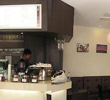 Exhibition at Cafe Ritorno by Midori Furze