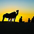 A Moment in Time, Khuri Sand Dunes by Mukesh Srivastava