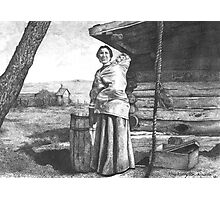 Aunt Mary and Baby Photographic Print