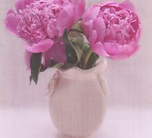 Pretty in Pink Peonies by BornBarefoot