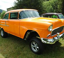 55 Chevy Gasser by Brandon Taylor