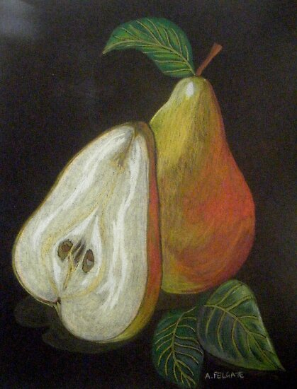Pears II by Alexandra Felgate