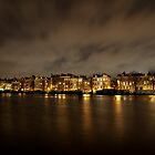 Amstel River,Amsterdam by jamestphoto