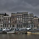 Amsterdam Canal buildings by jamestphoto