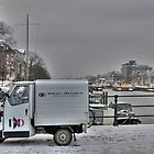 Small Van in Amsterdam by jamestphoto