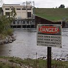 Danger at the Dam by Steffikins
