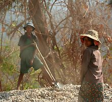 Child labour in Myanmar 2 by Colinizing  Photography with Colin Boyd Shafer