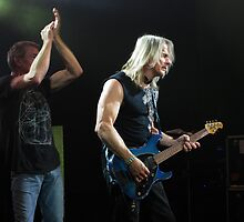 Ian Gillan & Steve Morse of Deep Purple by Paul Clarke