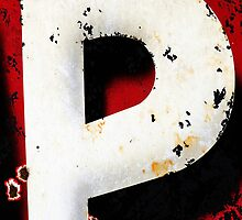 The Letter P by buttonpresser