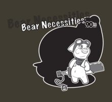 Bear Necessities: Undergrad Tee by rufusem