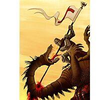Saint George and the Dragon Photographic Print