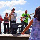 Band on the Hudson by Danny Drexler