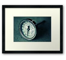 Meat Thermometer Framed Print