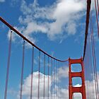 Golden Gate Span1 by Bob Moore