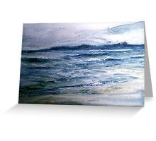 Who Hath Desired The Sea? Greeting Card