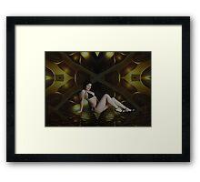 Orsi's Color Boom Framed Print