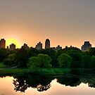 Sun Up on the Upper East Side (HDR) by Dave Bledsoe