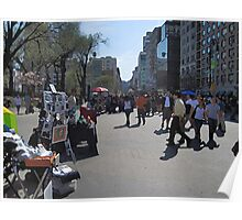 Artists in Union Square Poster
