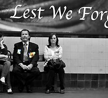Lest We Forget by Raoul Isidro