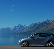 Toyota Matrix - Grand Teton NP by Aaron Minnick