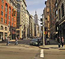 Empire State Building from 23rd Street by Danny Drexler