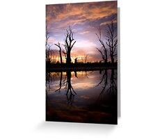 Early light. Greeting Card