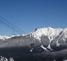 Chairlift at Mt. Baker by budgettraveleh