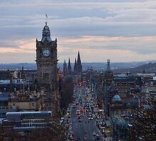 Princes Street by Lynne Morris
