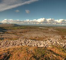 Beautiful Burren scene by John Quinn