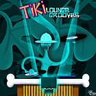 Tiki Lounge Grooves CD cover artwork. by Phil  Brown
