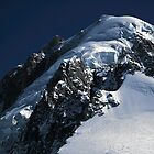 Summit of Aiguille Verte by John Gaffen